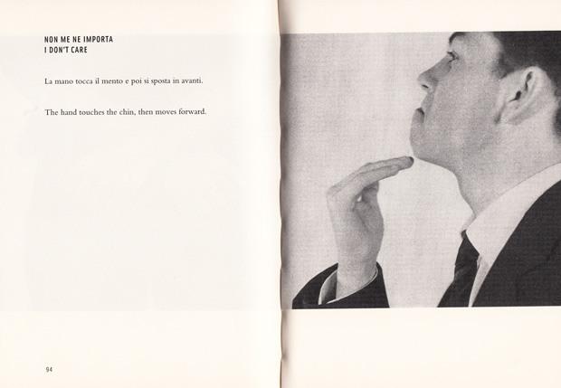 """I don't care Italian hand gesture - Gesto in italiano """"Non mi importa"""""""